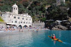 Portofino: passeio de caiaque no mar com caiaques