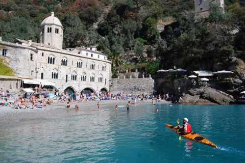 Portofino: tour en kayak de mar con kayaks sentados