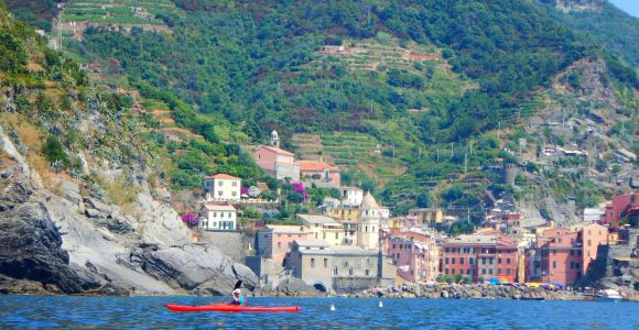 From Monterosso: Cinque Terre Kayak Tour