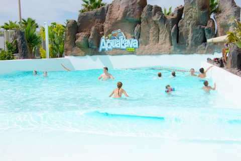 Aqualava Waterpark Admission with Pick-up & Drop-off