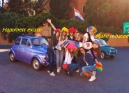 Rom: 3-stündige Tour mit Chauffeur im Fiat 500