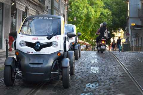 Lisbon: Self-Drive City Tour in E-Car with GPS Audio Guide