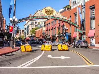 GPS-Talking-Tour-Autos: Innenstadt und Balboa Park