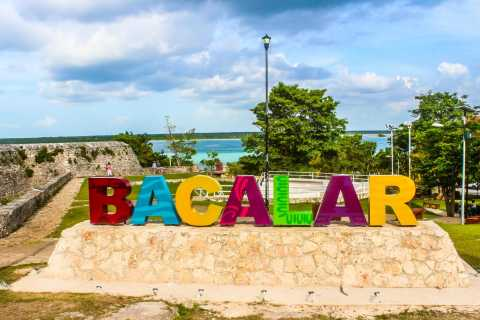 From Playa del Carmen: Bacalar and Lake Tour