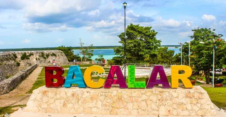 From Playa del Carmen: Bacalar and Lake Tour