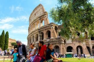Rom: Kolosseum & Forum Romanum Familie mit Kinderführung