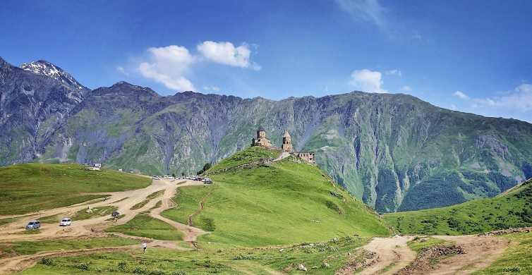 Kazbegi, Gergeti & Ananuri Mountains Private Full-Day Tour