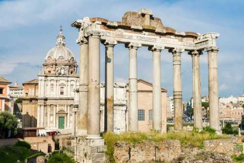 Rome: 3-Hour Colosseum Palatine Hill & Roman Forum