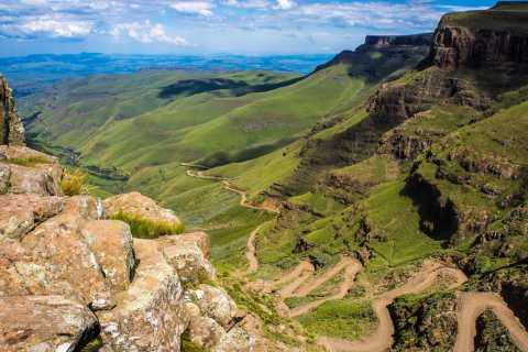 Van Durban: Sani Pass en Lesotho met 4WD Vehicle