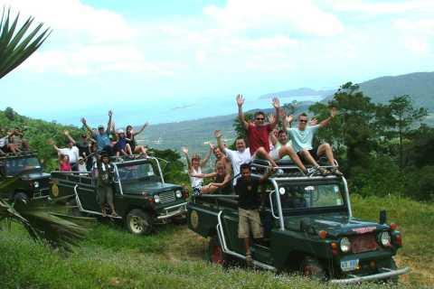 Samui: 7-Hour 4WD Wild Jungle Safari Tour Including Lunch