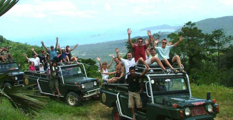 Ko Samui: safari nella giungla in 4x4 con pranzo incluso