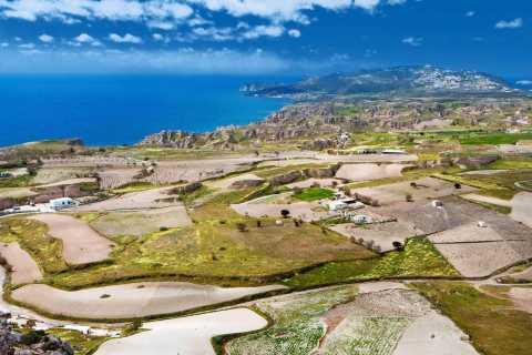 Santorini: Land Rover Safari con bodega Tour y almuerzo