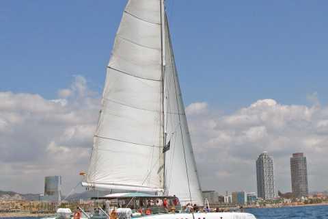 Barcelona: Catamaran Sail and Skyline