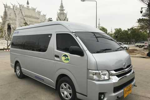Chiang Mai: 8-Hour Van Service with Professional Driver