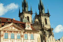 Praga: Excursão Guiada Cidade Velha e Bairro Judeu em Alemão