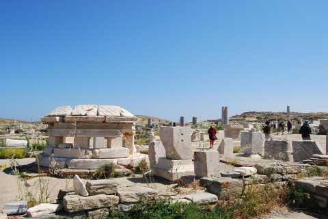 From Paros: Delos and Mykonos Full-Day Boat Trip