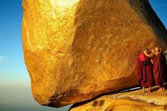 Pagode de Kyaiktiyo Viagem de um Dia Privado a Rock Dourado saindo de Yangon