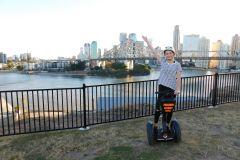 O melhor de Brisbane: Excursão de aventura de segway à noite ou dia