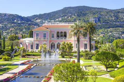 From Nice: Eze, Monaco, Cap Ferrat & Villa Rothschild