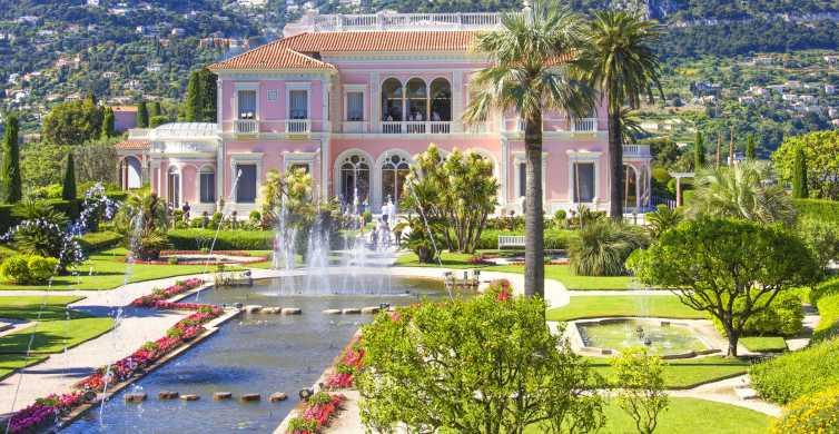 Desde Niza: Eze, Mónaco, Cap Ferrat y Villa Rothschild