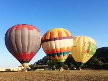 Mallorca: 1-stündige Heißluftballon-Fahrt