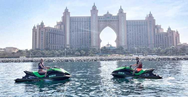 Palm Jumeirah: tour con gli sci a bordo di 1,5 ore