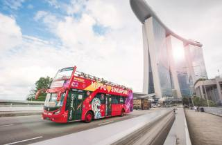 Singapur: Sightseeing Hop-On/Hop-Off-Tour