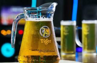 Singapur: Tiger Brauerei Erlebnistour mit Bierverkostung