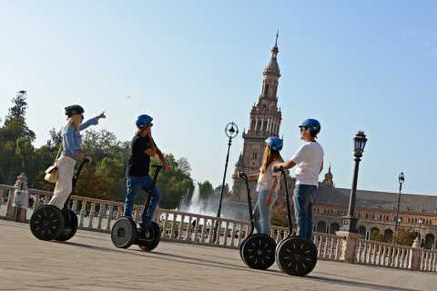 Seville: Square of Spain and Riverside Segway Tour