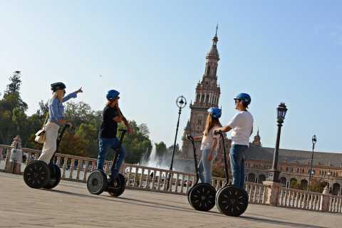 Sevilla: Plaza de España y Riverside Segway Tour
