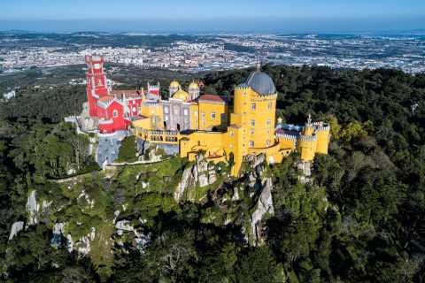 Ab Lissabon: Private Halbtagestour nach Sintra & Cascais