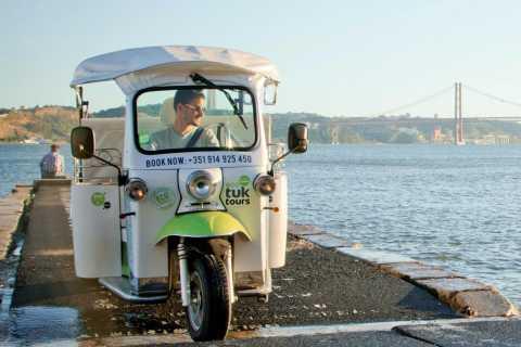 Lisbonne: visite gourmande de 2,5heures en Eco-Tuk