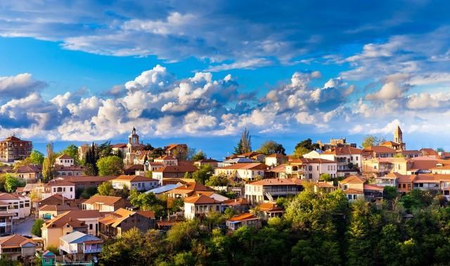 Volledige dagtour door Sighnaghi, Bodbe en Tsinandali vanuit Tbilisi