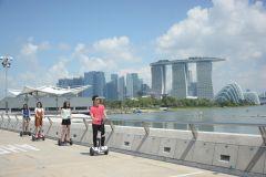 Cingapura: Mini-segway de 2 horas em Marina Bay