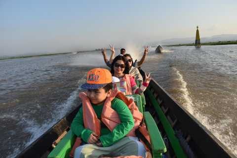 From Nyaung Shwe: Full-Day Boat Trip on Inle Lake