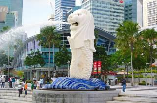 Singapur: Halbtägige Stadtrundfahrt mit Hotel-Transfer