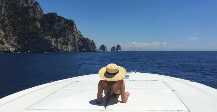 Capri Half Day Private Boat Excursion