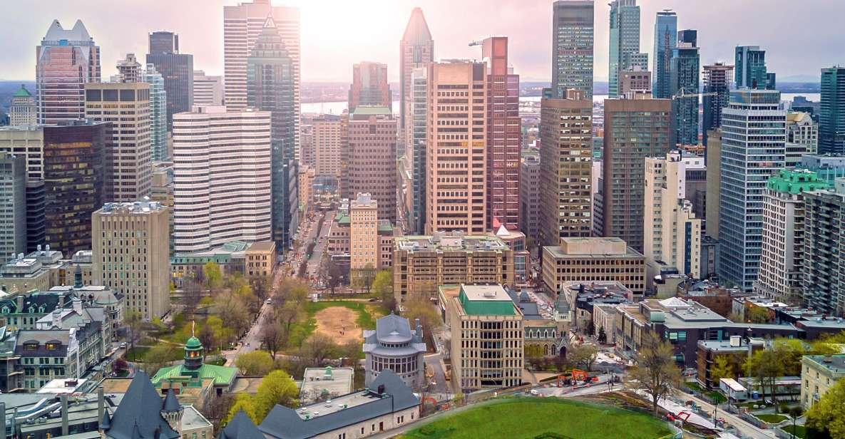 Montreal: Excursão turística a pequenos grupos com cruzeiro sazonal