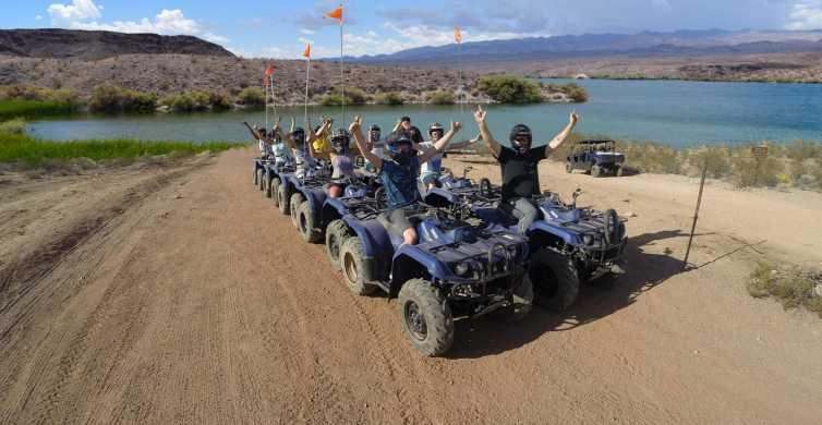 Tour del parco nazionale del Lago Mead ATV al fiume Colorado