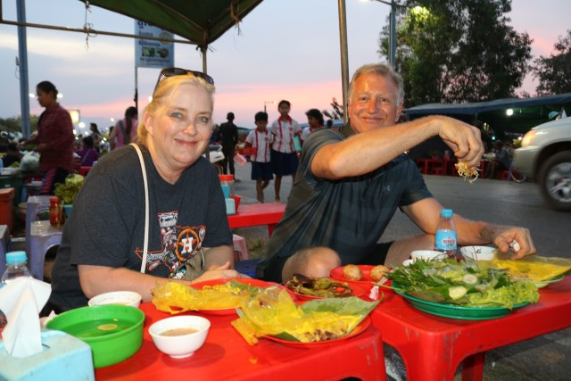 Private Street Food Tour with Dinner