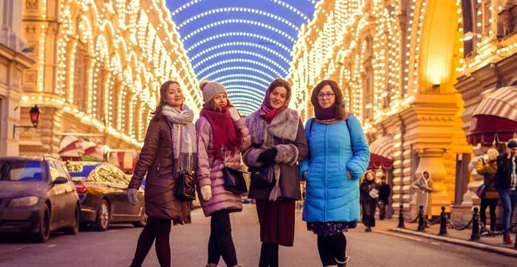 Moscow: Night Tour with Private Guide