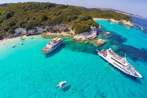 Андипакси и Голубые пещеры Пакси: круиз с острова Корфу