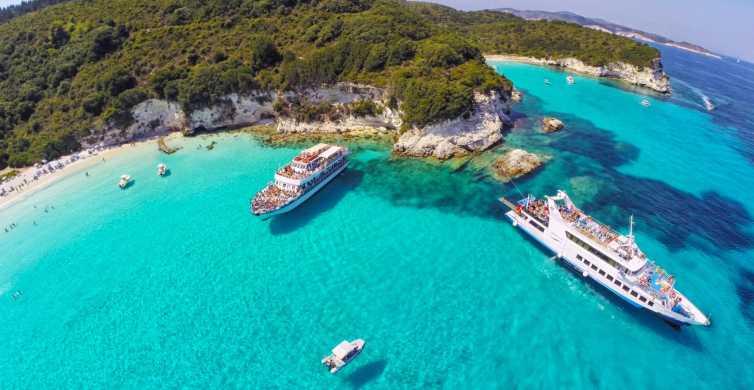 Antipaxos, Paxos e grotte blu: crociera da Corfù