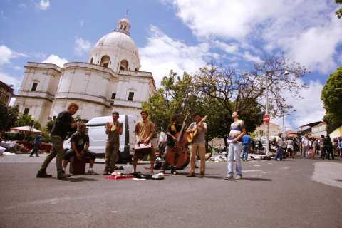 Lisbon: Old Town Tuk Tuk Tour