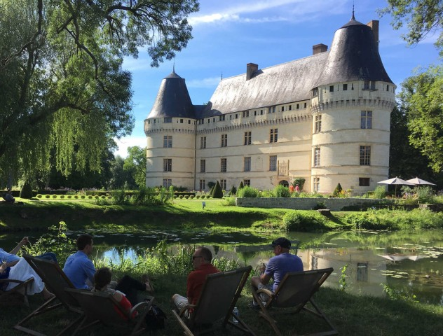From Tours: Villandry, Wineries & Family Castle