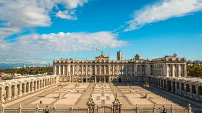 Visita Guiada sin Preceptos del Palacio Real de Madrid