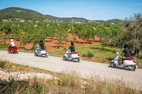 Ibiza: Excursão turística de scooter pela cidade de Vespa