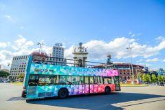 Barcelona: Circuito Hop-On Hop-Off de 1 ou 2 Dias