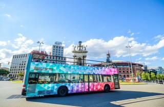 Barcelona: Hop-On/Hop-Off-Bustour