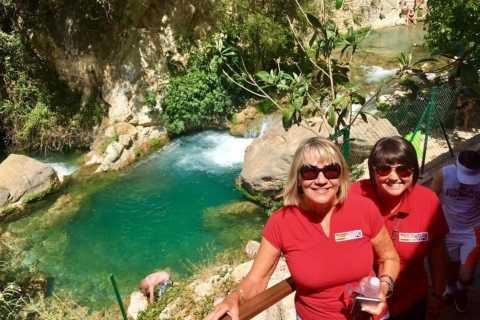 Da Benidorm: tour alle cascate di Algar e a Guadalest